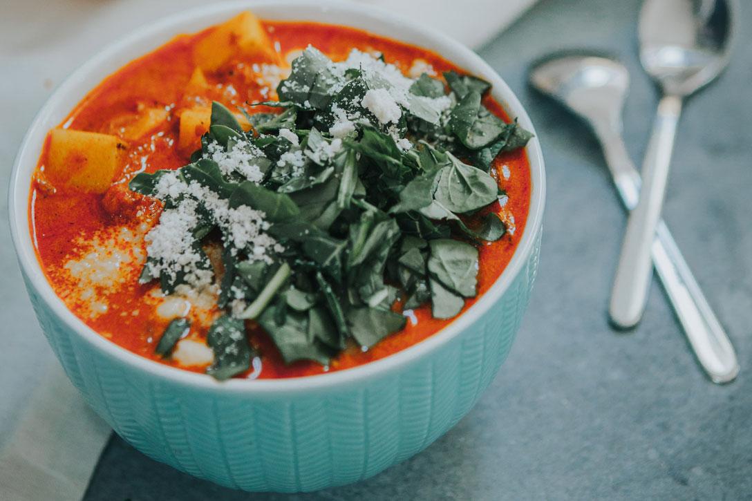 Potato Chorizo Soup | A-Yo Kitchen